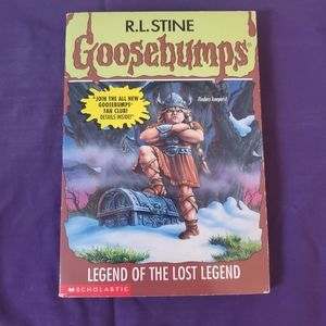 SALE 4/$20 R.L.Stine Goosebumps Apple Fiction Book